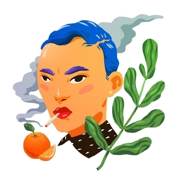 orange - illustration - johnstarr-5395 | ello