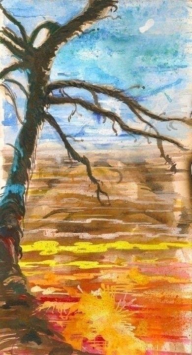 kiss - painting, conceptart, surrealism - sunnyefemena | ello