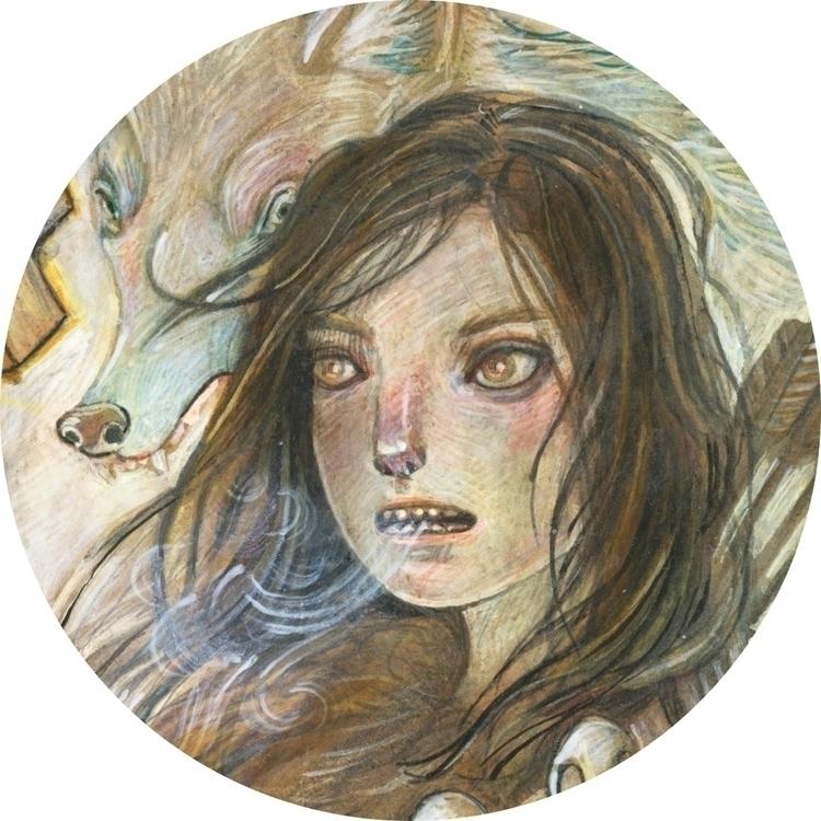 Spirit Animal, acrylic wood - jenniferlewis-4739   ello