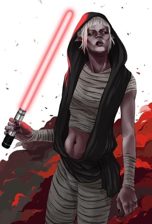 Sith - illustration, sith, starwars - karina-3813   ello
