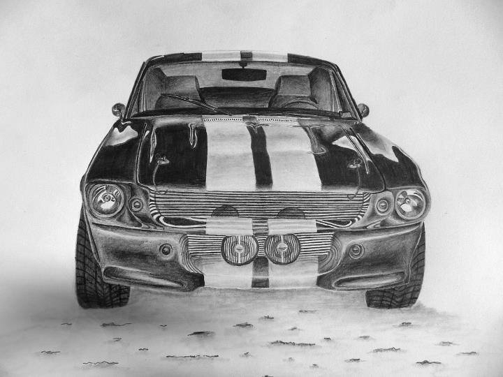 1967 Shelby Mustang, starting - car - bigfloppybanana | ello