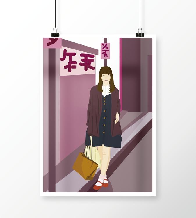 illustration, painting, drawing - grafika-5226 | ello