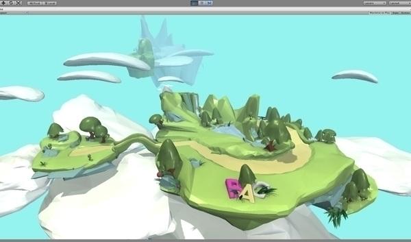 Flukiboo Game Goose - 3d, gameart - akhan74 | ello