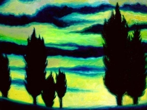 Dream Trees oils - 1,, oilpainting - laurencurtis | ello