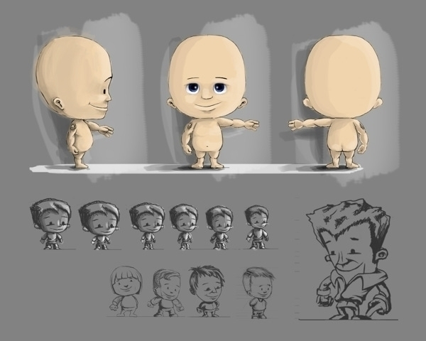 Flukiboo Game Goose - characterdesign - akhan74 | ello