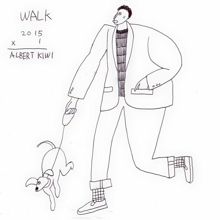 walk - illustration, art, artist - albertkiwi | ello