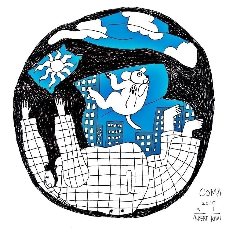 dream - illustration, art, artist - albertkiwi   ello