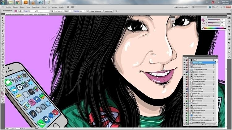 illustration finished, check po - atsukosan-3588 | ello