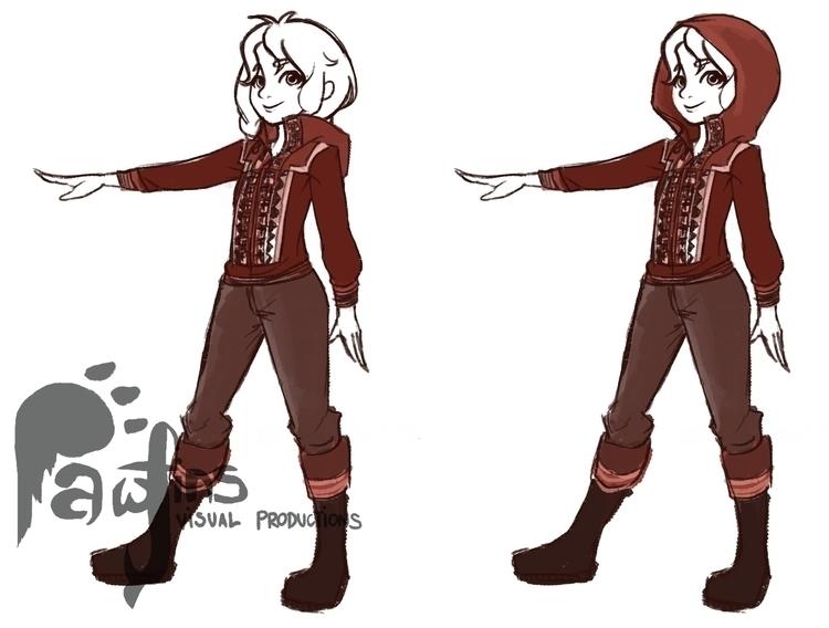 Hilkka Design - characterdesign - fishfranqz | ello