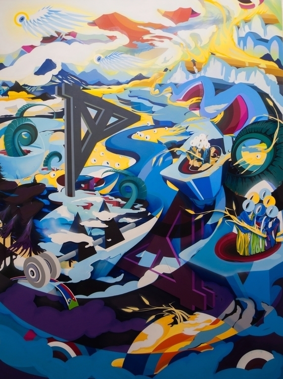 hoffman - painting, surrealism, conetemproraryart - jakubreken | ello