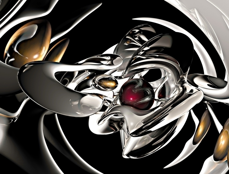 allien science - digitalart, 3d - mburleigh8 | ello