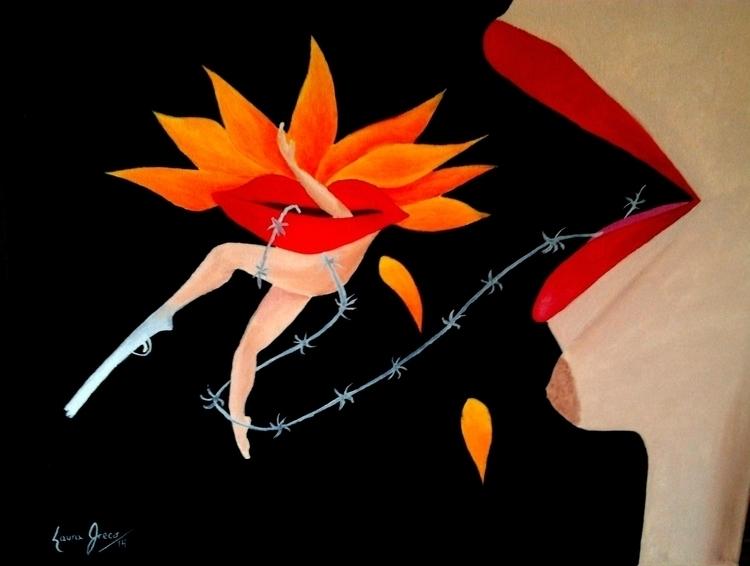Woman stablishment - Oil canvas - lauragreco | ello