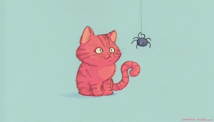 cat, spider - camotron | ello
