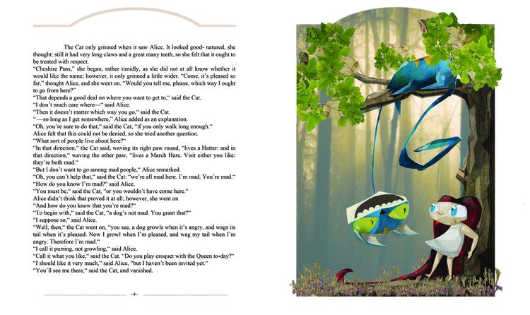 Illustration Alice Wonderland - illustration - tanjafea | ello