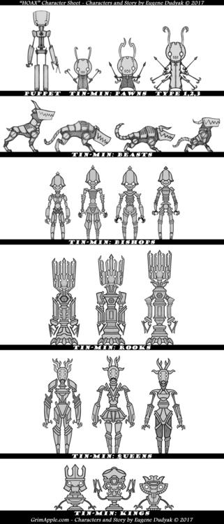 Character sheet based original  - grimapple | ello