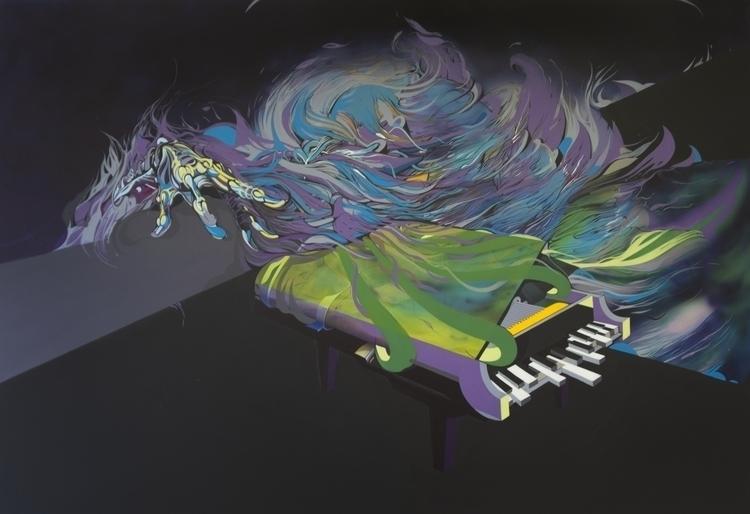 color chord, 2012, acryl oil ca - jakubreken | ello