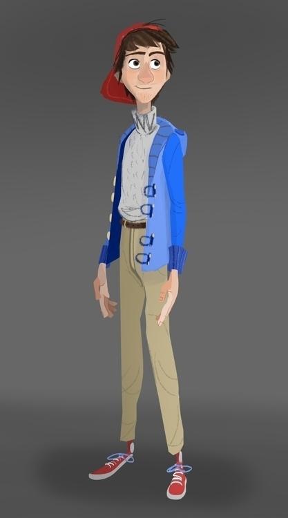 Jim - jim, characterdesign - cleleroy   ello