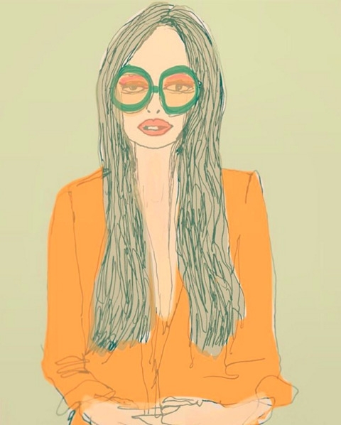 illustration, drawing, fashion - eye_catches | ello