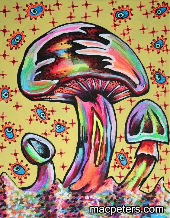 Copulashroom - mushroom, sexualenergy - macpeters | ello