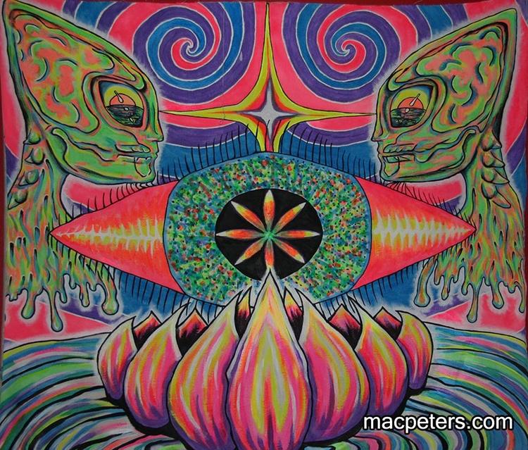 Alien Lotus - alien, lotus, vibration - macpeters | ello
