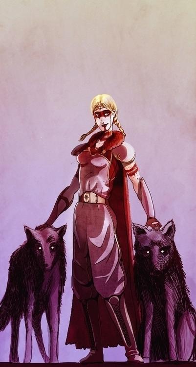 random character - illustration - yourizered | ello