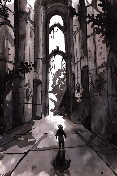painting, conceptart, environment - yourizered | ello