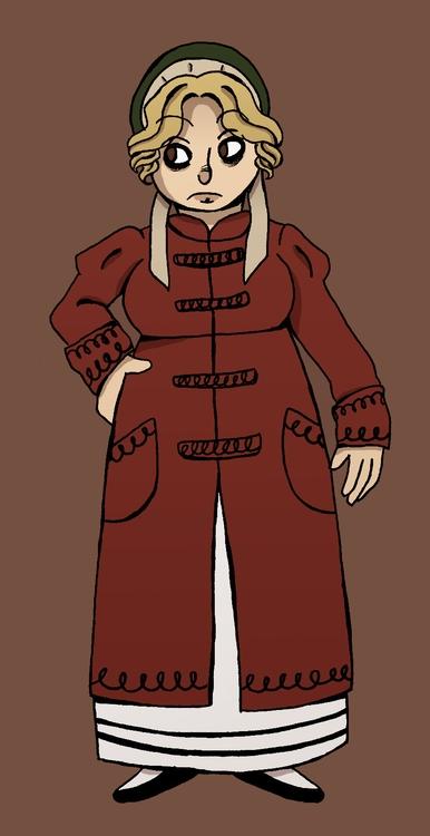 chara design 2 - illustration, characterdesign - norathebean | ello