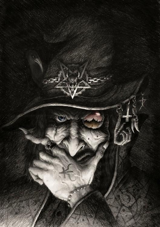 Warlock - characterdesign, illustration - nykaspykas | ello