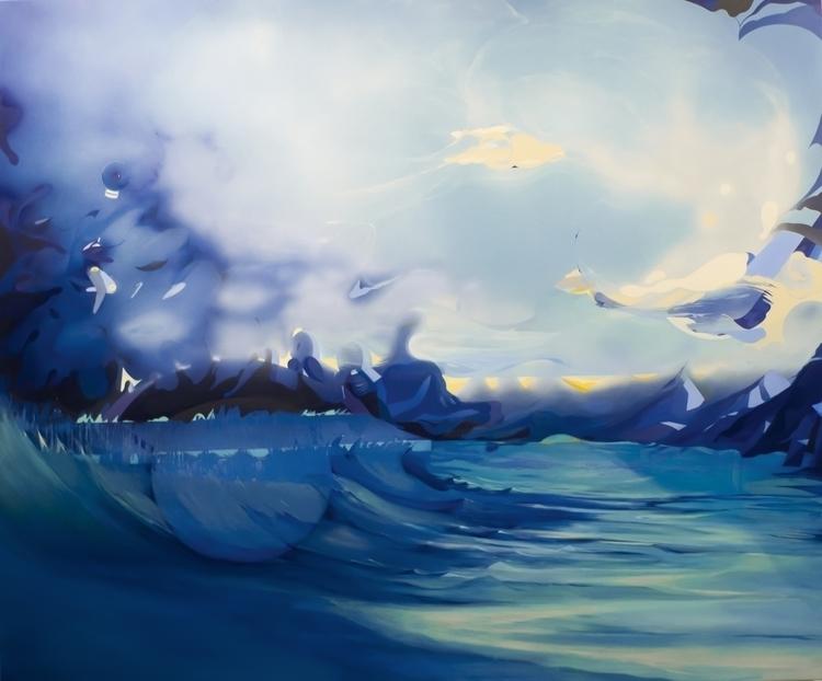 Yakutsk, Acryl oil canvas, 180x - jakubreken | ello