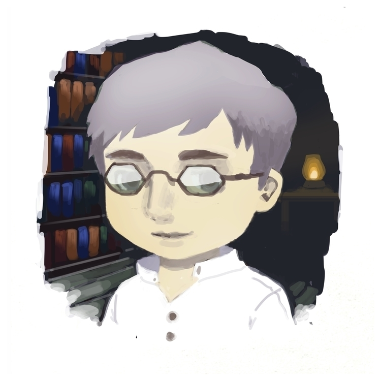 Investigator - illustration, characterdesign - sasphere | ello
