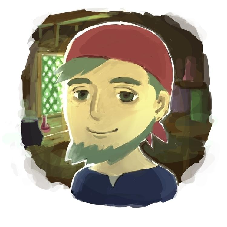 Alchemist - illustration, characterdesign - sasphere | ello