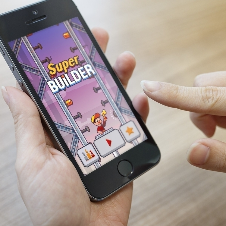 Super Builder - pixelart, game, onetap - phob | ello