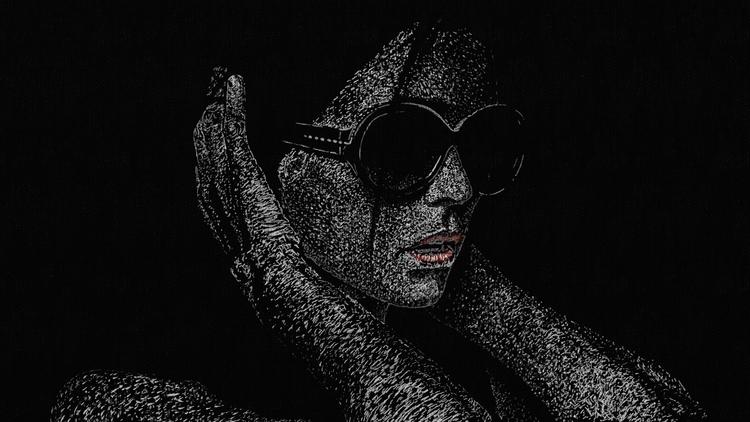 Shadowness - portrait, artrage, digitalart - simoz-1310   ello