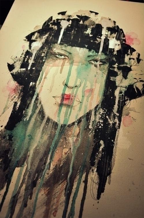 acrylic canvas 2014 - painting, iannocent - iannocent | ello