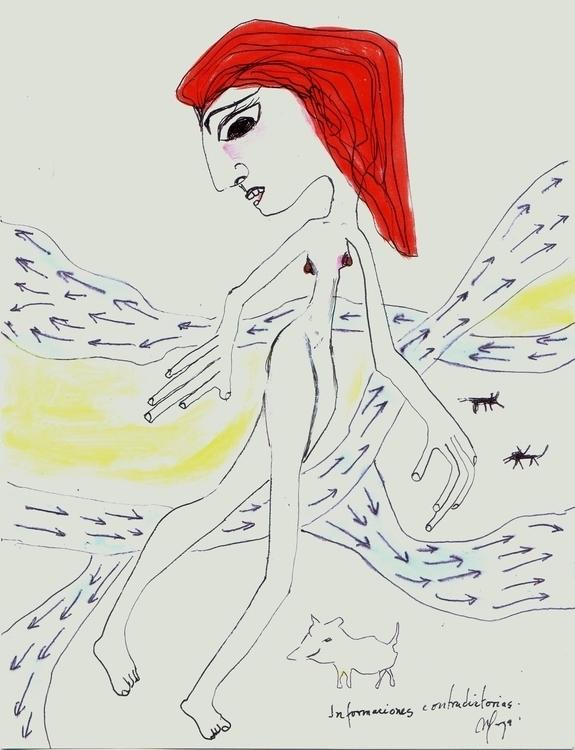 BIP-color pencil , Margarita Ga - margogroenlandia | ello
