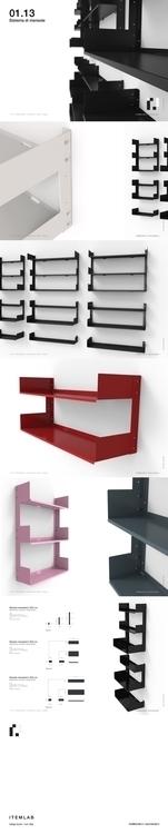 01.13 - SHELVES SYSTEM Design V - itemlab | ello
