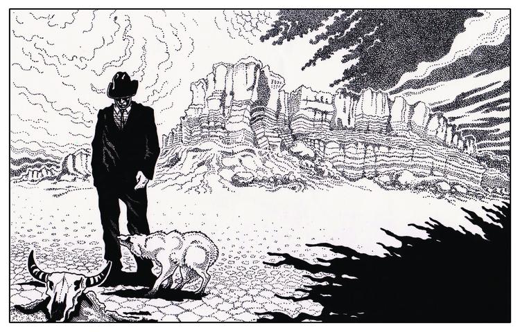 Valley Fear - illustration - zhenyayanovich | ello