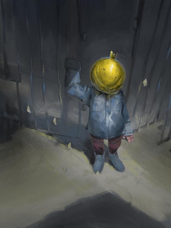Child crossroads - illustration - coffeeprotocol | ello