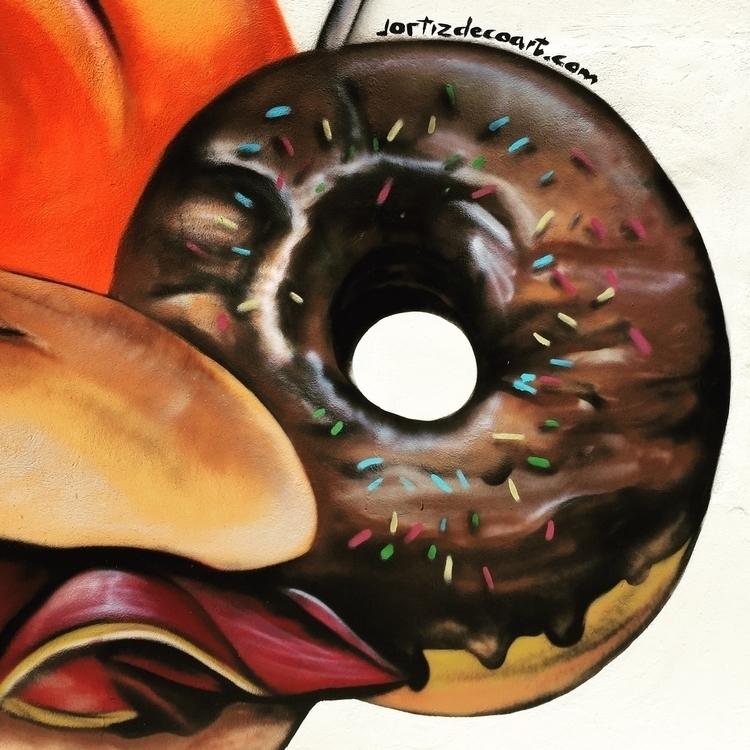 Donuts - illustration, graffiti,urban,street,character - jortiz-9644 | ello