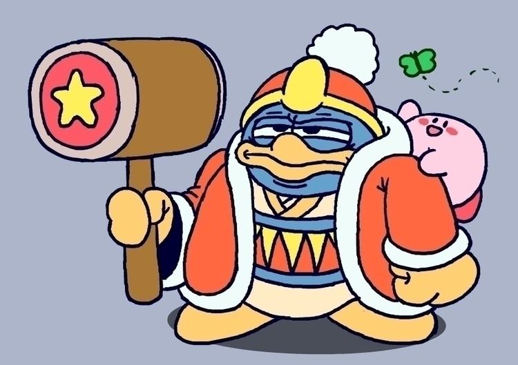King Dedede dededoodle bonus Ki - carldoonan | ello