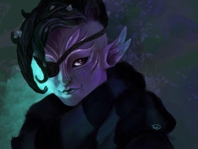 sylvari game Guild Wars 2 - illustration - elorviel | ello