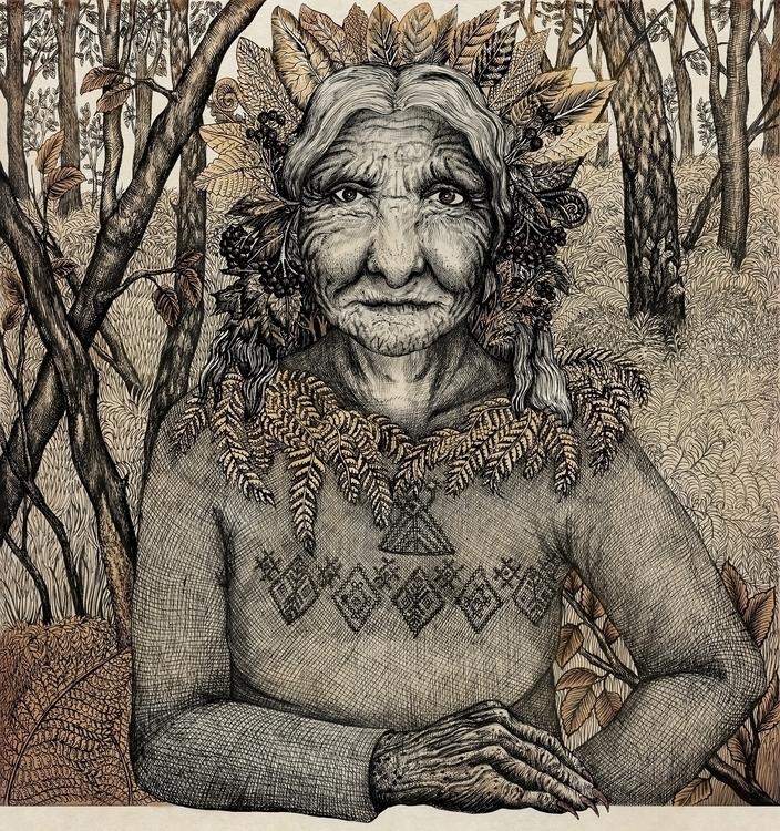 Blueberry Baba - illustration, drawing - kamaarts | ello