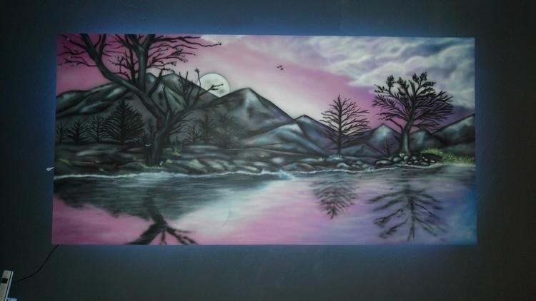 dark ash - illustration, painting - jortiz-9644 | ello