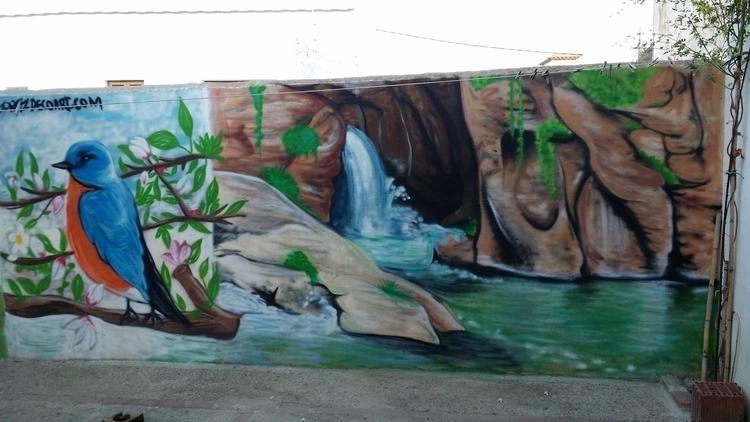 Las canales | Padules - #art#mural#graffiti#streetart#painting - jortiz-9644 | ello
