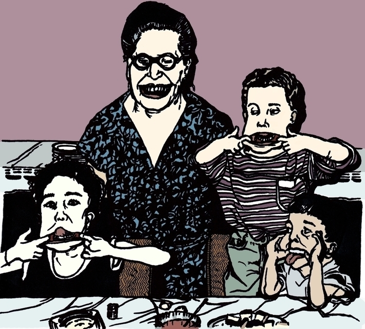 family_digital painting_São Pau - renataribak | ello