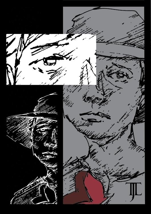 illustration, funeral, sad, sadness - tjl-4686 | ello