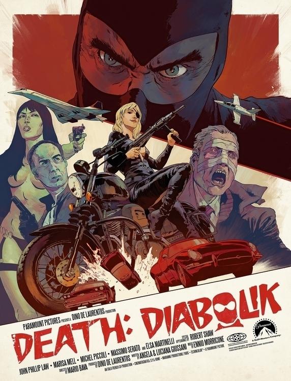 Death: Diabolik | Ink Photoshop - robertsammelin-9753 | ello
