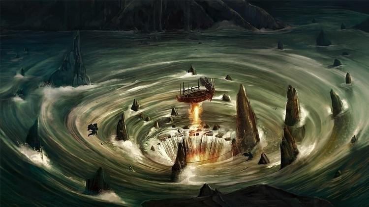 River Styx - Fantasyart, mythology - jporta | ello