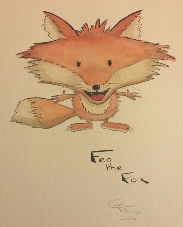 Fox: unsuccessful submission il - gbwildlifetales | ello