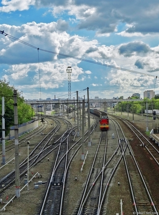 Railway - railway, photography, photo - nellya   ello